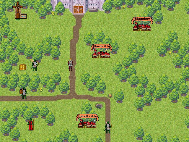 Screenshot of Dangerous Lands (RPG/Strategy)