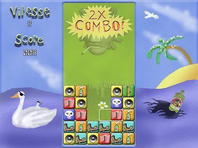 Screenshot of Cake & Smurphy Puzzle Battle!