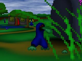 Zoomed screenshot of Bog's Adventure in Easy3D