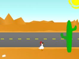 Screenshot 1 of Chicken VS. Road