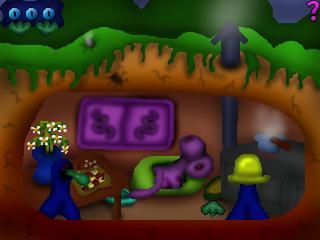 Zoomed screenshot of Bog's Adventures in the Underworld