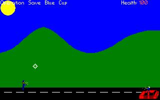 Screenshot of Operation Save Blue Cup