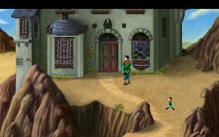 Screenshot of King's Quest III