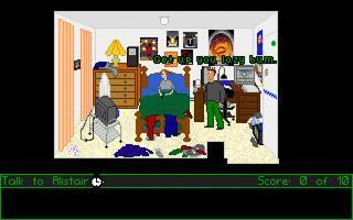 Zoomed screenshot of 'Adventure Game' demo