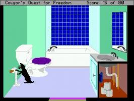 Screenshot 1 of Cougar's Quest for Freedom
