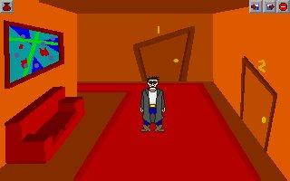 Zoomed screenshot of Max: The Dark Hero