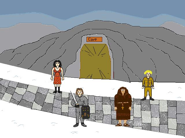 Screenshot of Adventure Quest 2 - Winterlong