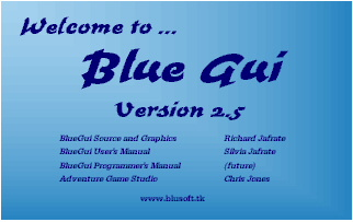 Screenshot of BlueGui v2.5  (updated 10-27-02)