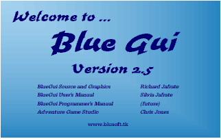 Zoomed screenshot of BlueGui v2.5  (updated 10-27-02)