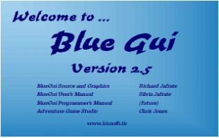 Screenshot 1 of BlueGui v2.5  (updated 10-27-02)