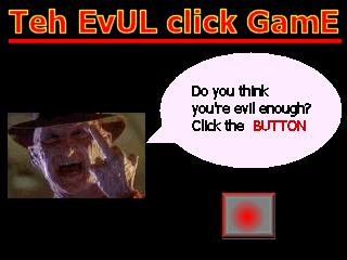 Screenshot of Teh EvuL CliCk GaMe