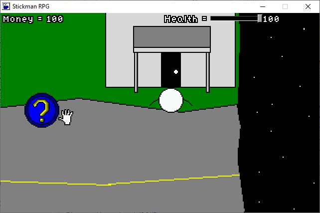 Zoomed screenshot of Stickman RPG