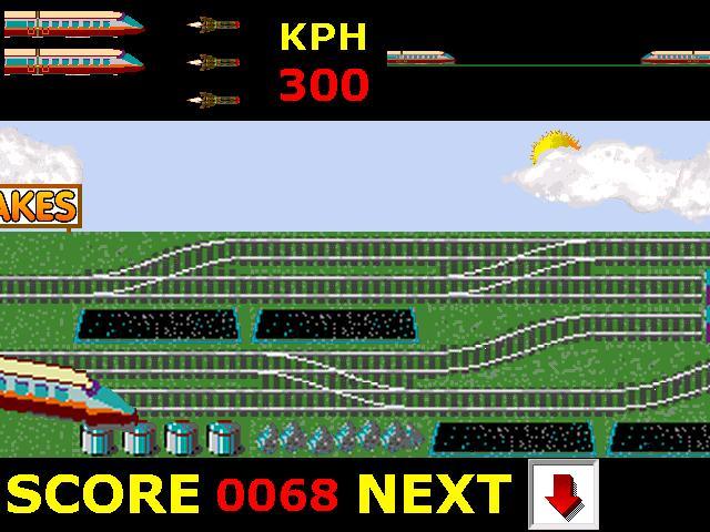 Screenshot of Bullet Train