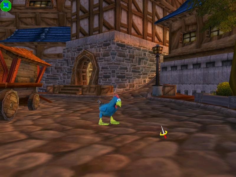 Screenshot of Tales of Chickenry