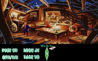 Zoomed screenshot of Monkey Island: Carnival of the Damned