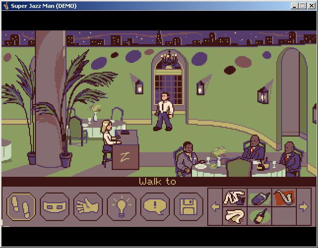Screenshot of Super Jazz Man