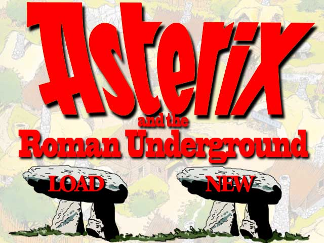Zoomed screenshot of Asterix and the Roman Underground