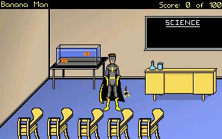 Screenshot of Banana Man - the Video Game
