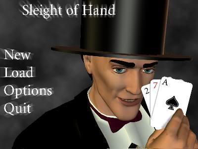 Screenshot of Sleight of Hand - Demo