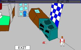 Screenshot 1 of Alien Attack
