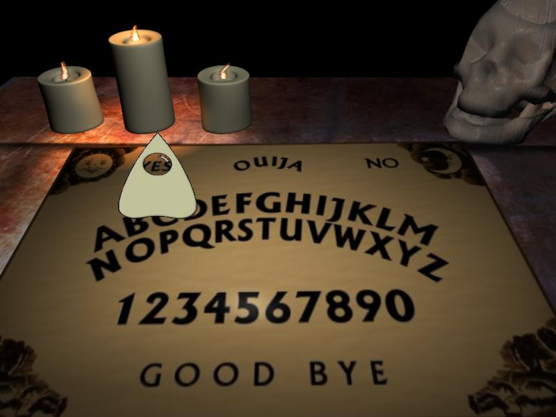 Screenshot of Midnight Spirit Board