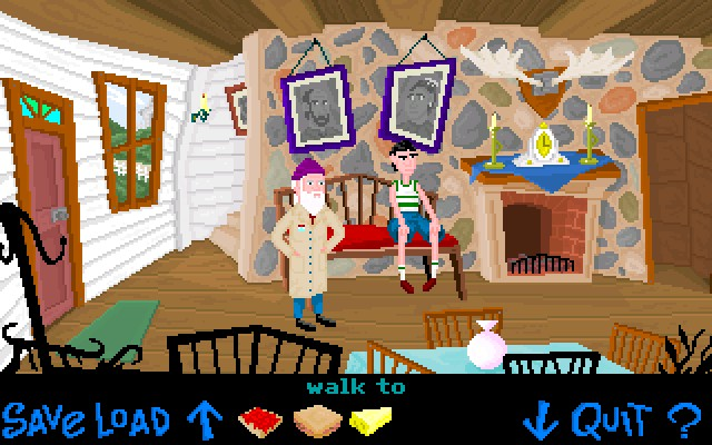 Screenshot of Dr. Lutz and the Time Travel Machine