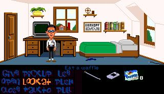Zoomed screenshot of Bernard's Room