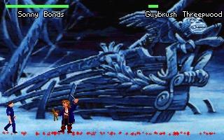 Zoomed screenshot of Quest Fighter II