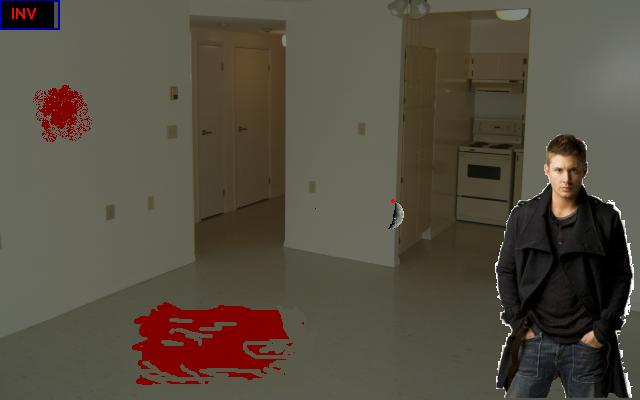 Zoomed screenshot of Supernatural: The Terror Trio