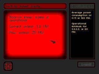 Zoomed screenshot of I.S.O.S.