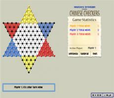 Screenshot 1 of Chinese Checkers