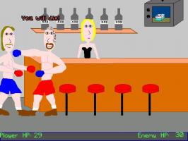 Screenshot 1 of Ahmet's AGS Fight Game Remix