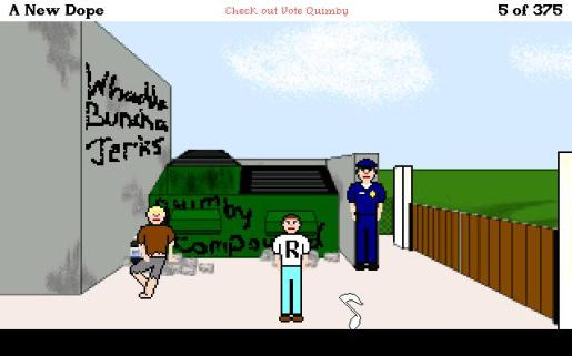 Screenshot of Quimby Quest