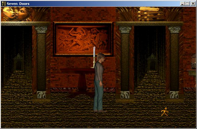 Screenshot of The Seven Doors