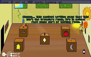 Zoomed screenshot of Indiana Jones - Coming of Age